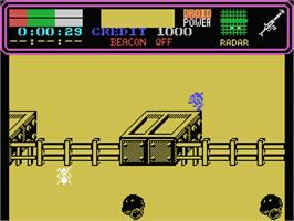 In game image of Colony on the MSX.