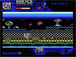 In game image of Comando Tracer on the MSX.