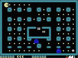 In game image of Corsarios on the MSX.