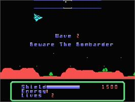 In game image of Desolator on the MSX.