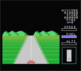 In game image of Eagle Fighter on the MSX.