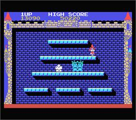 In game image of FairyLand Story, The on the MSX.