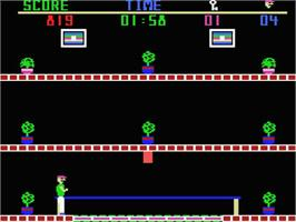In game image of Heist on the MSX.