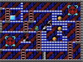 In game image of King's Valley 2 on the MSX.