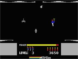 In game image of MULE on the MSX.