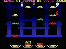 In game image of MacAttack on the MSX.