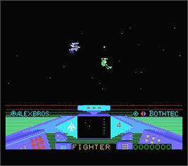 In game image of Maziacs on the MSX.