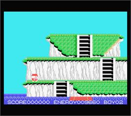 In game image of Pine Applin on the MSX.