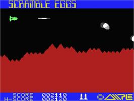 In game image of Scramble Eggs on the MSX.