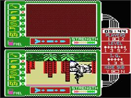 In game image of Spy vs. Spy II: The Island Caper on the MSX.