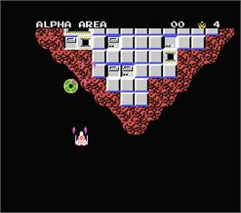 In game image of Star Force on the MSX.