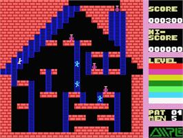 In game image of Super Drinker on the MSX.