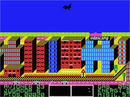 In game image of Wrangler on the MSX.