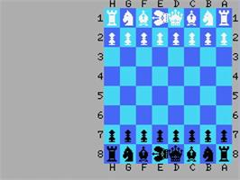 Title screen of Colossus 4 Chess on the MSX.