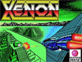 Title screen of Xenon on the MSX.