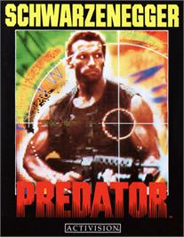 Box cover for Predator: Soon the Hunt Will Begin on the MSX 2.