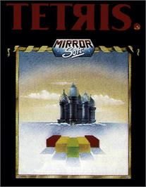 Box cover for Tetris on the MSX 2.