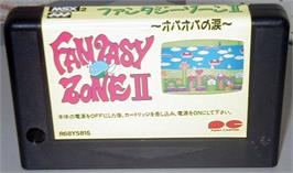 Cartridge artwork for Fantasy Zone 2 on the MSX 2.