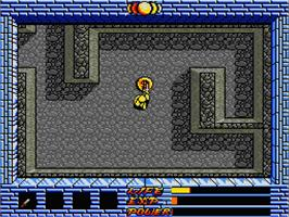 In game image of Black Beard on the MSX 2.