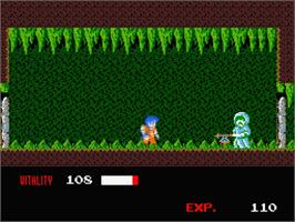 In game image of Dragon Warrior on the MSX 2.