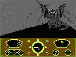 In game image of Eidolon on the MSX 2.
