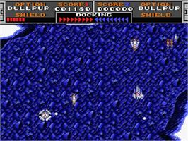 In game image of Laydock 2: Last Attack on the MSX 2.