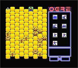 In game image of Ogre on the MSX 2.