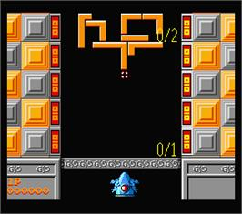 In game image of Quarth on the MSX 2.