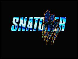 Title screen of Snatcher on the MSX 2.