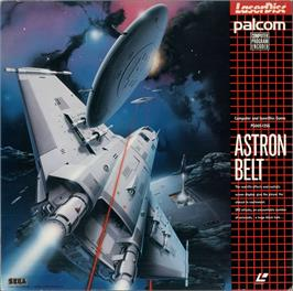 Box cover for Astron Belt on the MSX Laserdisc.