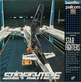 Box cover for Starfighters on the MSX Laserdisc.