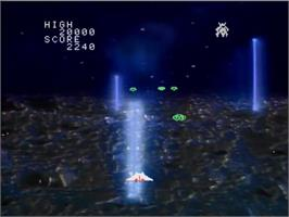 In game image of Interstellar on the MSX Laserdisc.