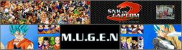 Arcade Cabinet Marquee for SNK vs Capcom Ultimate Mugen 3rd Battle Edition v2.0.