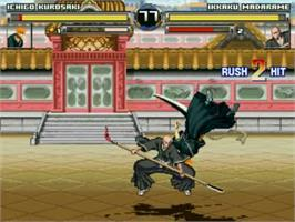 In game image of Bleach Mugen on the MUGEN.