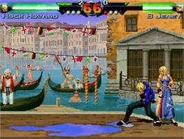 In game image of Fatal Fury - Mark of the Wolves on the MUGEN.