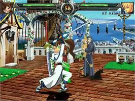 In game image of Guilty Gear XX Mugen on the MUGEN.