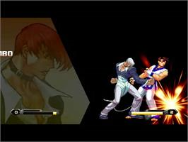 In game image of King Of Fighters Infinite on the MUGEN.