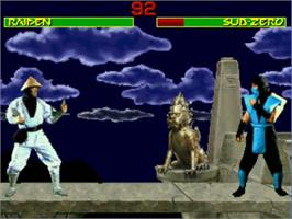 In game image of Mortal Kombat 1 on the MUGEN.