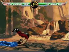 In game image of Mortal Kombat Project 4.8 on the MUGEN.