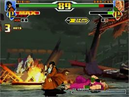 In game image of SNK vs Capcom Ultimate Mugen 3rd Battle Edition v2.0 on the MUGEN.