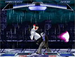 In game image of Shades of Manhattan on the MUGEN.