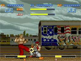 In game image of Street Fighter 1 - Champion Edition on the MUGEN.
