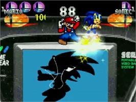 In game image of Super Smash Bros. Brawl All Stars on the MUGEN.