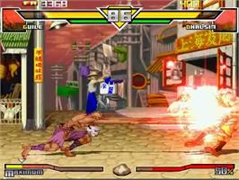 In game image of Super Street Fighter 2 Turbo HD Remix on the MUGEN.