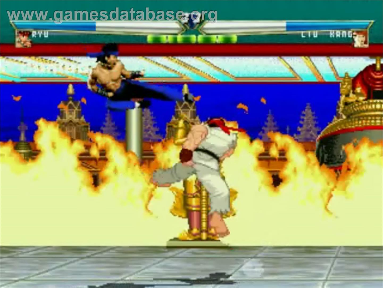 Mortal Kombat Vs Street Fighter Mugen Artwork In Game