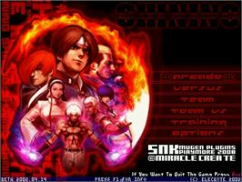 Title screen of King Of Fighters Shining on the MUGEN.