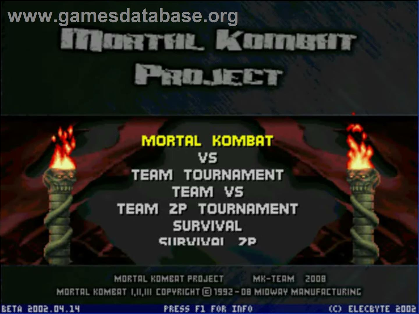 mk project Download mortal kombat project 41 reinventing a classic of martial arts mortal kombat is a successful fighting game series that emerged in the early 90's and has continues to this day.