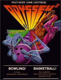 Box cover for Bowling! on the Magnavox Odyssey 2.
