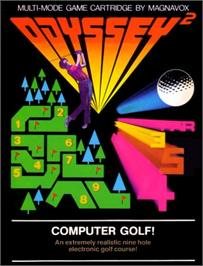 Box cover for Computer Golf! on the Magnavox Odyssey 2.
