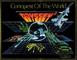 Box cover for Conquest of the World on the Magnavox Odyssey 2.